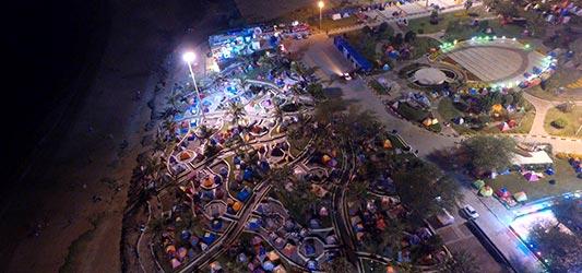 کمپ در پارک زیتون قشم