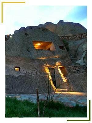 تور تبریز هتل صخره ای کندوان