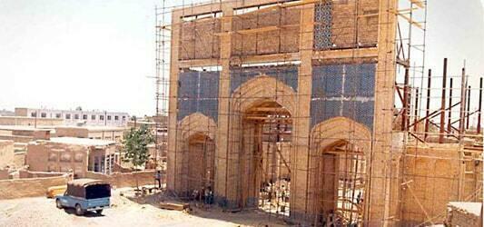 تاسیس بازار رضا مشهد سال 1342