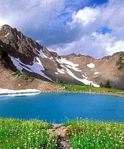 چشمه کوه گل دنا؛ برای سفر تابستانی