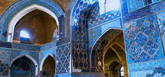 تاریخچه ساخت مسجد کبود تبریز