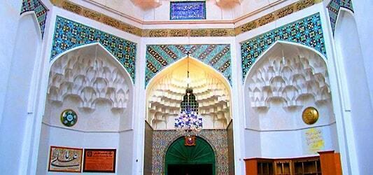تماشای آرامگاه شاه نعمت الله ولی در ماهان