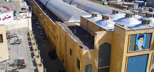 بازار رضا مشهد آدرس