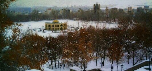 پارک ائل گلی در زمستان