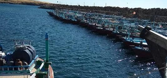 اسکله ماهیگیری رمین