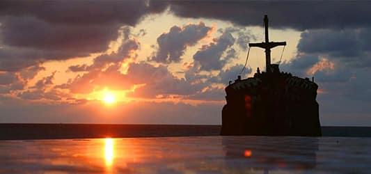 خورشید و کشتی کیش