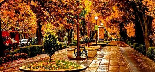پاییز چهارباغ اصفهان