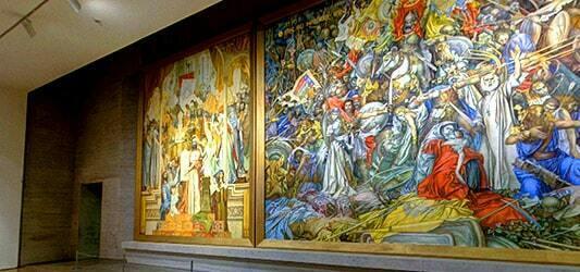 مجموعه گالری های هنری در کاسکاد