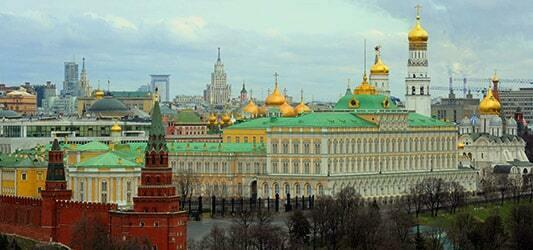 کرملین بزرگترین کاخ مسکو