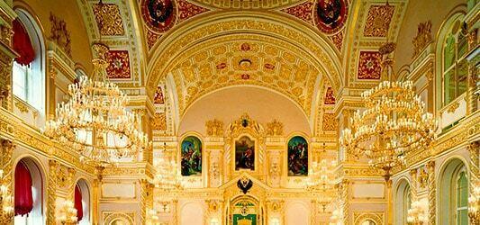 داخل کاخ کرملین