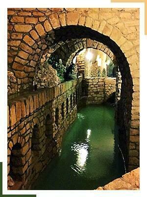 عکس شهر زیرزمینی کاریز کیش