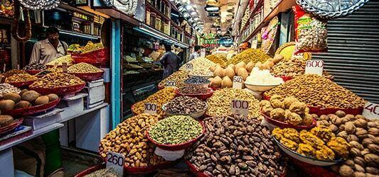 شهر دهلی و غذاهای رنگارنگ