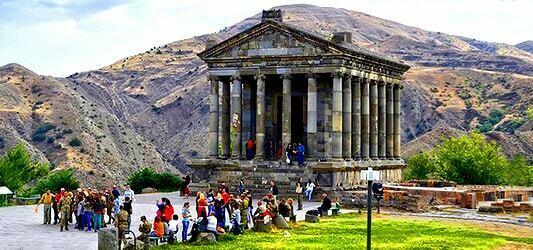معبد گارنی کشور ارمنستان