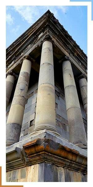 معبد گارنی در ارمنستان