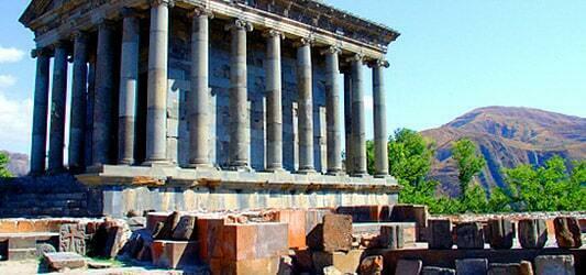 باز سازی معبد گارنی ایروان