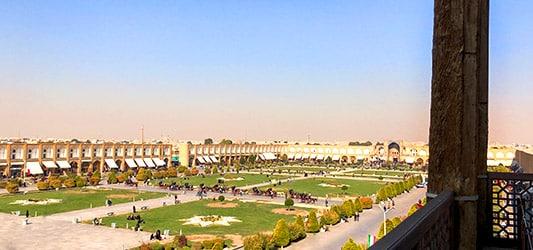 منظره شهر اصفهان